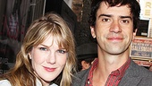 Seminar alums Lily Rabe and Hamish Linklater reunite at The Columnist.