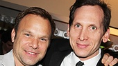 The Columnist Opening Night  Norbert Leo Butz  Stephen Kunken