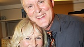Thirty years after their breakthrough movie performances in The World According to Garp, Glenn Close congratulates her pal John Lithgow.