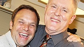 What a great photo of our favorite Dirty Rotten Scoundrels and multiple Tony winners Norbert Leo Butz and John Lithgow.