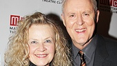 Mary Yeager is all smiles with her Broadway star husband, John Lithgow.