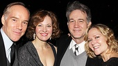 The Columnist Opening Night  Michael Winthur  Kathleen McNenny Boyd Gaines  - Rebecca Luker