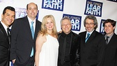 Leap of Faith Opening Night  Sergio Trujillo  Christopher Ashley  Janus Cercone  Alan Menken  Warren Leight  Glenn Slater