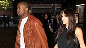 After enjoying their time at Wicked Kanye West and Kim Kardashian hit the yellow brick road, but we have a feeling they'll be back to Broadway soon!