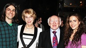 Irish President Visits Once   Lucas Papaelias  tk  McKayla Twiggs  Ripley Sobo  Michael D. Higgins  Erikka Walsh   
