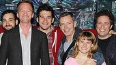 Neil Patrick Harris &amp; More at Starcatcher  Peter and the Starcatcher cast - Neil Patrick Harris 