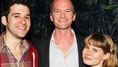 Tony host and TV favorite Neil Patrick Harris is thrilled to meet Peter and the Starcatcher stars Adam Chanler-Berat (Boy) and Celia Keenan-Bolger (Molly).