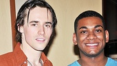Spider-Man star Reeve Carney and American Idol's Joshua Ledet are two men who soar onstage.
