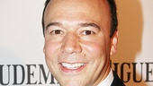 Follies Best Lead Actor in a Musical nominee Danny Burstein sports a striped tie with his tux.