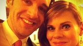 2012 Tony Awards Instagram Snapshots  Celia Keenan-Bolger  Adam Chanler-Berat