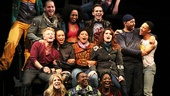 No day but today! The off-Broadway cast of Rent raise their voices on Jonathan Larsons anthem. 