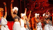 Fela Opening Night 2012 – The Fela Cast Bow