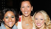 Vanessa Williams Visits Bring It On  Ariana DeBose - Vanessa Williams  Courtney Corbeille