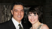 Robert Cuccioli can always count on support from his stage wife Mrs. Osborn, played by Laura Beth Wells.