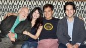 Grace stars Ed Asner, Kate Arrington, Michael Shannon and Paul Rudd get set to meet the press.
