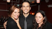 Cheyenne Jackson loves the reality TV stars! Here he is sandwiched between Real Housewives of New York's LuAnn de Lesseps and America's Next Top Model judge Kelly Cutrone.