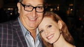 The Heiress director Moises Kaufman enjoys a night out with his new muse, Jessica Chastain!