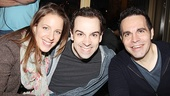 Drood's Jessie Mueller, Chaplin's Rob McClure and funnyman Mario Cantone are dressed for fall in New York.