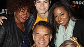 Ghost's Da'Vine Joy Randolph and Bring It On stars Jason Gotay, Adrienne Warren and Ryann Redmond are super excited to meet Tony winner Brian Stokes Mitchell.