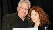 Tony winners Harvey Fierstein and Bernadette Peters remind us that this exciting day benefits a great cause: Broadway Cares/Equity Fights AIDS. Thanks all who participated!