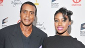 Condola Rashad is accompanied by her proud dad, sportscaster Ahmad Rashad.