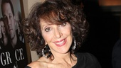 Tony winner Andrea Martin, who will debut her cabaret show at 54 Below on October 9, looks glamorous on opening night.