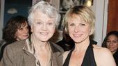 Broadway vet Angela Lansbury was on hand to support her The Best Man cast member Angelica Page.