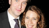 Dan Stevens gets a visit from his Broadway neighbor, Evita star Elena Roger!