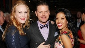 "As Miss Hannigan, Rooster and Lily St. Regis, Katie Finneran, Clarke Thorell and J. Elaine Marcos get to perform the rousing number ""Easy Street."""