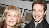 Barbara Walters congratulates The Performers scribe David West Read.