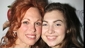 Who is Carolee Carmello's date for her big Broadway opening? Her lovely daughter Zoe. Don't they look great?
