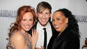 The ladies sure love the handsome Andrew Samonsky. Here he is nestled between his co-stars Carolee Carmello and Roz Ryan.
