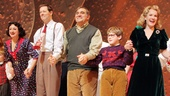 A Christmas Story Opening Night  Caroline OConnor  John Bolton  Dan Lauria  Johnny Rabe  Erin Dilly  Zac Ballard