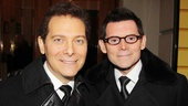 A Christmas Story Opening Night  Michael Feinstein  Terrence Flannery