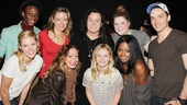 Rosie ODonnell at Bring It On  Gregory Haney  Taylor Louderman  Kate Rockwell  Elle McLemore  Rosie ODonnell  Vivienne ODonnell  Ryann Redmond  Adrienne Warren  Neil Haskell