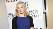 Yvonne Strahovski is radiating pure glamour in her opening night outfit. 