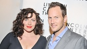 Cast member Dagmara Dominczyk (Anna) has one hunky date for the evening: her Tony-nominated hubby Patrick Wilson!