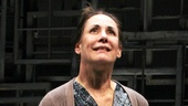 She's a Broadway powerhouse! Laurie Metcalf receives a deserved standing ovation during the curtain call.