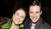 Ben Rappaport poses with a famous face: four-time Tony nominee Tovah Feldshuh!