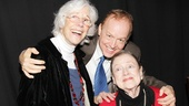 Frances Sternhagen, Reed Birney and Elizabeth Wilson (who was in the original Picnic in 1953) share in the excitement of opening night!