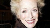 Holland Taylor, whose solo show Ann is headed to the Lincoln Center in February, enjoys a night out on Broadway.