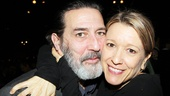 Cat star Ciaran Hinds gets chummy with his Stop-Loss co-star Tony nominee Linda Emond.