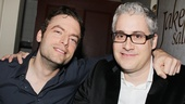 Weeds star Justin Kirk congratulates Rolin Jones (a scriptwriter for the Showtime drama) on his new play, The Jammer.