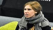 In her off-Broadway debut, Zosia Mamet takes on the challenging and heartbreaking role of Leigh in Really Really. 