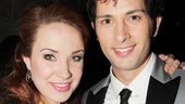 Sierra Boggess and Kyle Barisich play Phantom love interests Christine and Raoul in the 25th anniversary cast.