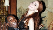 Norm Lewis and Sierra Boggess have a blast acting out scenes from The Little Mermaid!