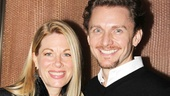 Broadway couple Jason Danieley and Marin Mazzie come out to support Martin Moran, who co-starred with Marin in Spamalot and with Jason in Floyd Collins.