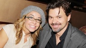 Another set of Broadway spouses, Jen Cody and Hunter Foster, are among the famous faces at All the Rage's opening night.