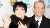 Wave to your adoring fans! Legends Liza Minnelli and Joel Grey greet the crowd at the 40th anniversary screening of Cabaret.