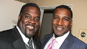 Porgy and Bess co-stars Phillip Boykin and Norm Lewis reunited to play Booker T. Washington and Coalhouse.